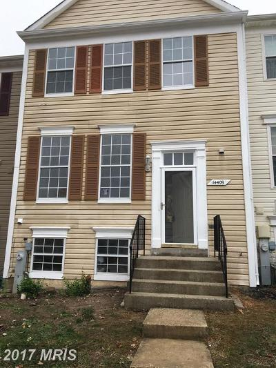 Laurel Townhouse For Sale: 14409 Bonnett Lane
