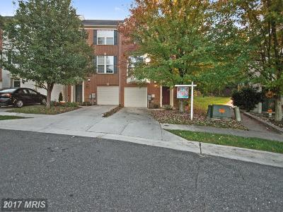 Fort Washington Townhouse For Sale: 3010 Gallop Way