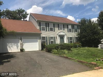 Fort Washington MD Single Family Home For Sale: $290,000