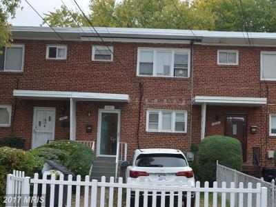Oxon Hill Townhouse For Sale: 641 Maury Avenue