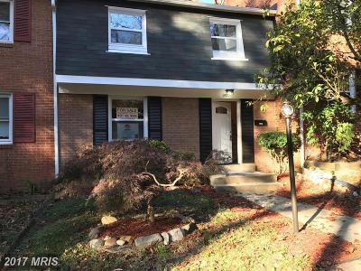 Fort Washington Townhouse For Sale: 1592 Potomac Heights Drive #234