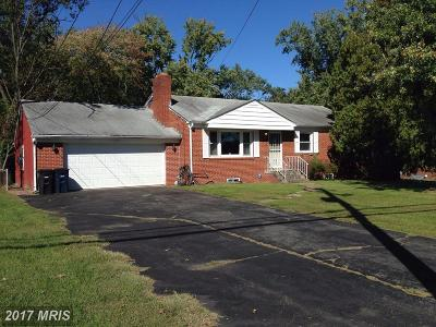 Temple Hills Single Family Home For Sale: 6923 Allentown Road