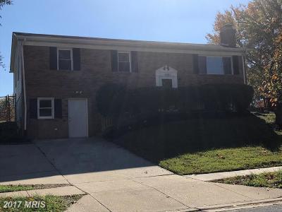 Upper Marlboro Single Family Home For Sale: 4808 Parkmont Lane
