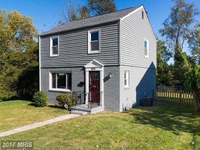 Hyattsville Single Family Home For Sale: 6731 Chillum Manor Road