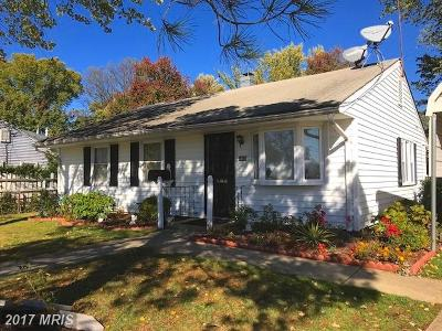 Oxon Hill Single Family Home For Sale: 6806 Grenada Avenue