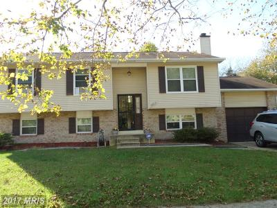 Fort Washington Single Family Home For Sale: 6817 Cherryfield Road