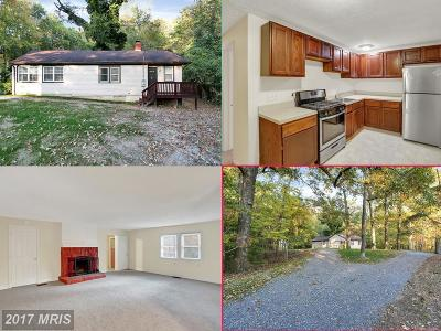 Brandywine Single Family Home For Sale: 3200 Danville Road