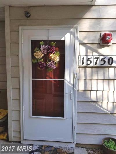 Bowie Rental For Rent: 15750 Easthaven Court #602