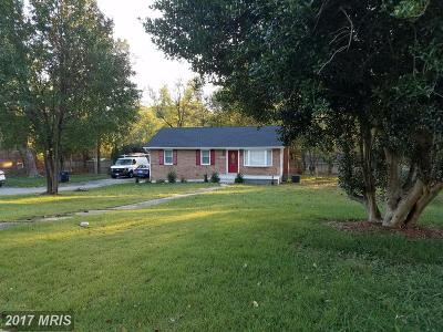 Temple Hills Single Family Home For Sale: 5909 Temple Hill Road