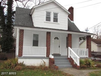 Hyattsville Single Family Home For Sale: 4812 52nd Avenue