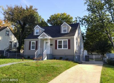 Hyattsville Single Family Home For Sale: 4305 73rd Avenue