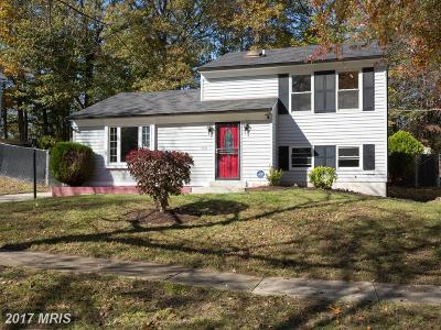 Upper Marlboro Single Family Home For Sale: 3611 Endsley Place