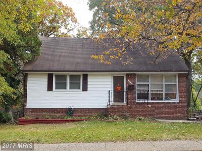 New Carrollton Single Family Home For Sale: 8313 Sprague Place