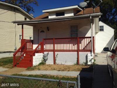 Hyattsville Single Family Home For Sale: 4805 48th Avenue