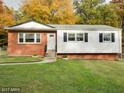 Beltsville Single Family Home For Sale: 4616 Blackwood Road