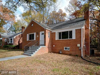 Cheverly Single Family Home For Sale: 2705 Valley Way