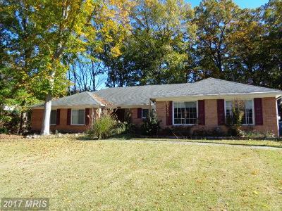 Fort Washington Single Family Home For Sale: 720 Gleneagles Drive