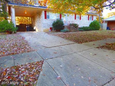 Accokeek Single Family Home For Sale: 15801 Blackburn Street