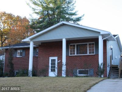 Temple Hills Single Family Home For Sale: 5111 Wilkins Drive