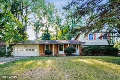 Temple Hills Single Family Home For Sale: 6003 Summerhill Road