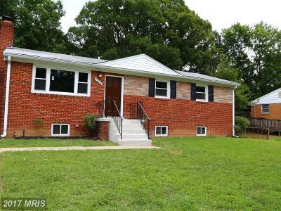 Fort Washington Single Family Home For Sale: 7908 Veltri Drive
