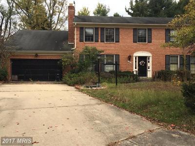 Upper Marlboro Single Family Home For Sale: 12103 Northwood Drive