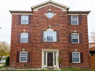 Bowie Townhouse For Sale: 15724 Erwin Court