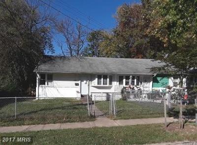 Landover Single Family Home For Sale: 7700 Muncy Road