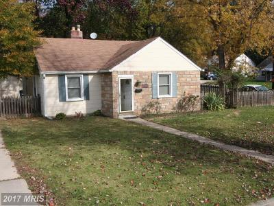Hyattsville Rental For Rent: 4918 70th Place