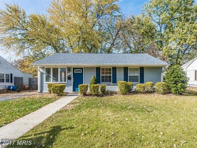 Oxon Hill Single Family Home For Sale: 830 Shelby Drive