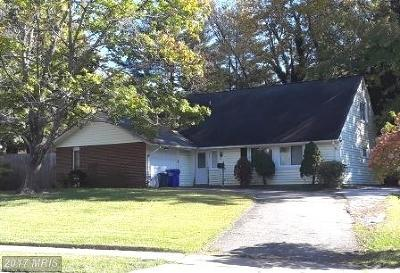 Bowie Single Family Home For Sale: 1801 Perrell Lane
