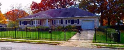 Suitland Single Family Home For Sale: 2203 Porter Avenue