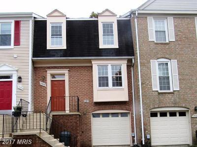 Laurel Townhouse For Sale: 14638 Cambridge Circle