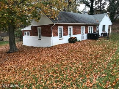 Temple Hills Rental For Rent: 5905 Southgate Drive