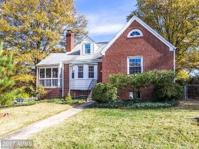 Hyattsville Single Family Home For Sale: 6015 43rd Street