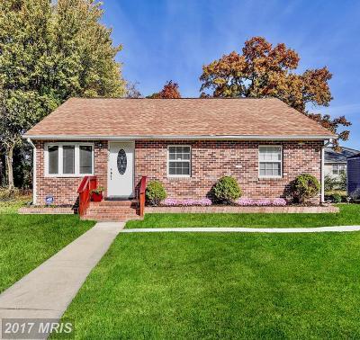 Springdale Single Family Home For Sale: 9024 Taylor Street