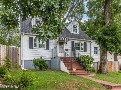 Hyattsville Single Family Home For Sale: 7761 Frederick Court