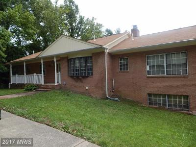 Capitol Heights Single Family Home For Sale: 1415 Pine Grove Road