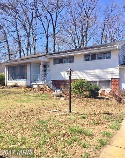 Glenn Dale Single Family Home For Sale: 3226 Glen Avenue