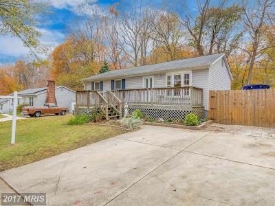 Upper Marlboro Single Family Home For Sale: 12406 Kayak Drive