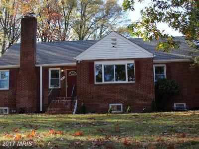 College Park Single Family Home For Sale: 7314 Edmonston Road