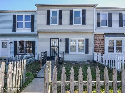 Landover Townhouse For Sale: 6736 Hawthorne Street