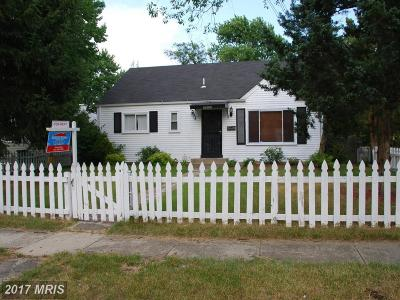 District Heights Rental For Rent: 2602 Lakehurst Avenue