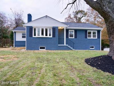 Clinton Single Family Home For Sale: 8615 Woodyard Road