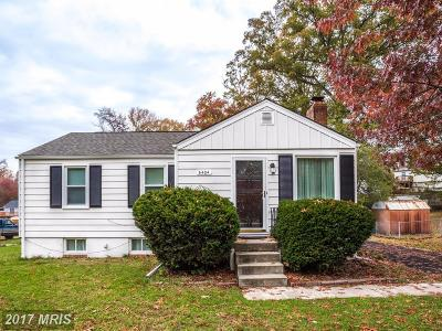 Clinton MD Single Family Home For Sale: $239,950