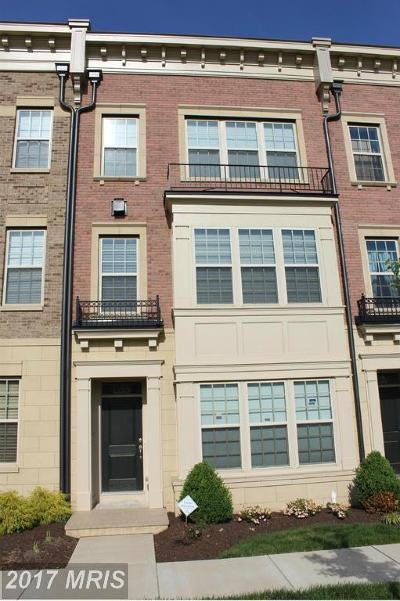 Oxon Hill Townhouse For Sale: 857 Regents Square #323