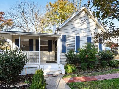 Capitol Heights Single Family Home For Sale: 5310 Cumberland Street