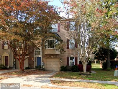 Bowie Townhouse For Sale: 3822 Early Glow Lane
