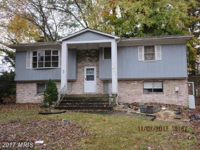 Fort Washington Single Family Home For Sale: 1603 Robin Court