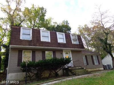 Fort Washington Single Family Home For Sale: 611 Tantallon Drive